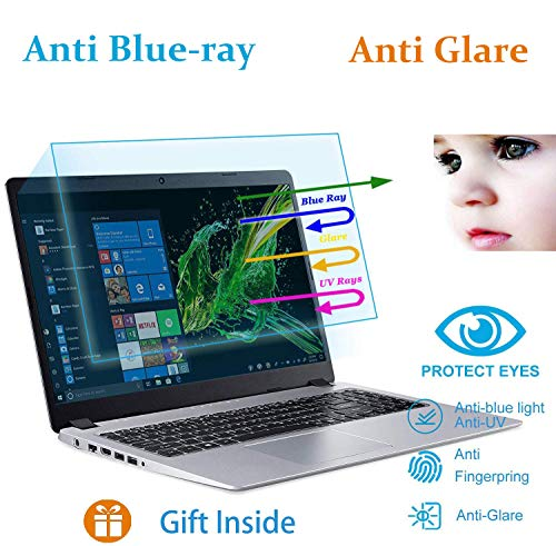 Eyes Protection Filter Fit 15.6 ASUS Vivobook (S) 15.6 |15.6 ASUS Chromebook 15.6 Anti Blue Light Glare Screen Protector, Reduces Eye Strain Help You Sleep Better