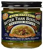 Better Than Bouillon Chicken Base Reduced Sodium 8oz