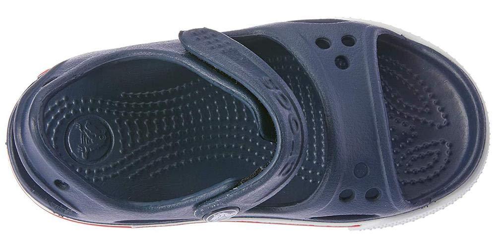 Crocs Kid's Boys and Girls Crocband II Sandal | Pre School, Navy/White, 5 M US Toddler by Crocs (Image #7)