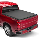 Lund Genesis Elite Roll Up, Soft Roll Up Truck Bed Tonneau Cover | 96890 | Fits 2005 - 2020 Nissan Frontier w/utility track 5' Bed