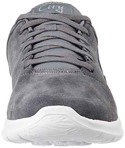 Skechers Walk Charcoal Challenger White City Go rp1qw5r