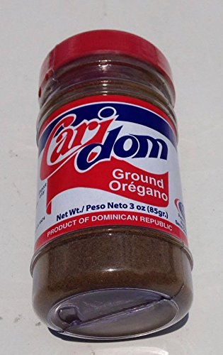 Caridom Ground Oregano 100% Natural From Dominican Republic Dried Oregano Oregano Powder 3 oz
