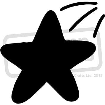 Groß A2 Sternschnuppe Wandschablone Vorlage Ws00023869 Amazon