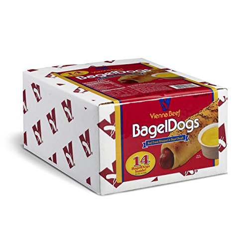 - Vienna Beef BagelDogs 5.5 oz. 5.6 lbs. 14 count