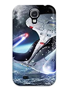 For Matt L Morrow Galaxy Protective Case, High Quality For Galaxy S4 Star Trek Skin YY-ONE