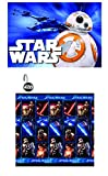 Disney Marvel New 13pcs Set (Shower Curtain with Hooks) OR 14pcs Set (Shower Curtain Set with Bath Memory Foam Mat) (Star Wars, 14pcs Set - Shower Curtain set & Memory Mat)