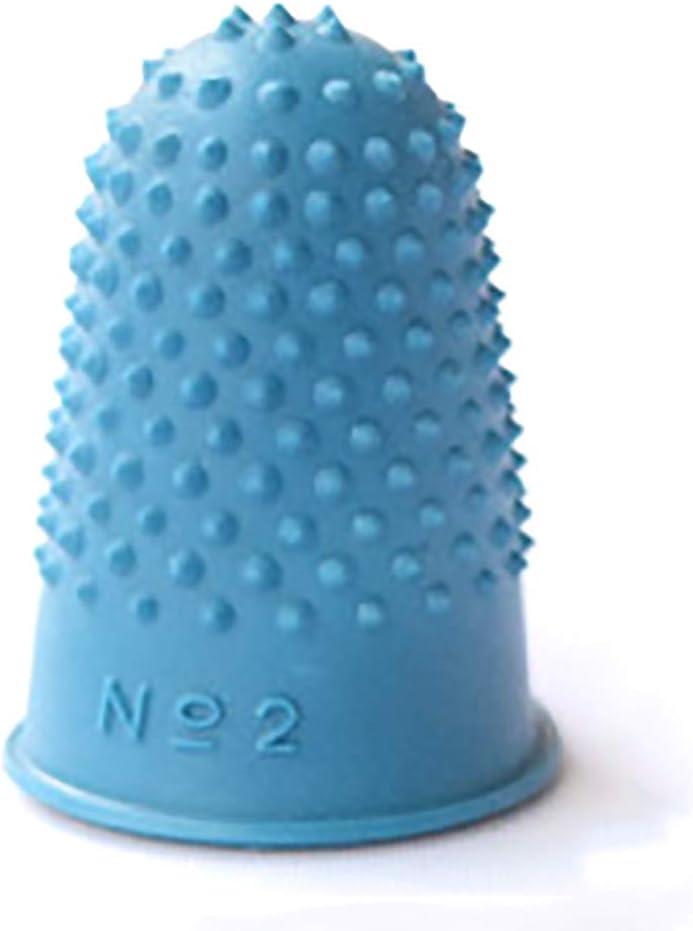 Alicer Fingerh/üte zum Z/ählen von Geldscheinen//Umbl/ättern 5pcs aus Gummi,Silikon Fingerschutz Abdeckungen Blue