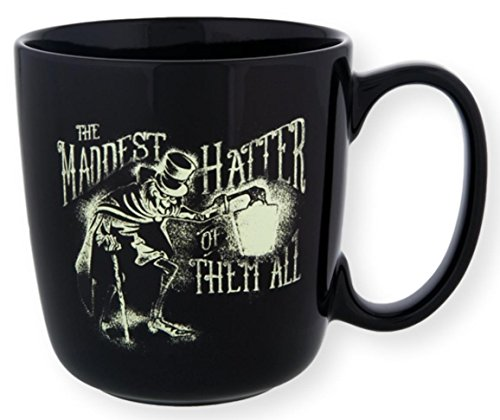 Glowing - Disney Parks Haunted Mansion Hatbox Ghost Maddest Hatter of Them All Mug