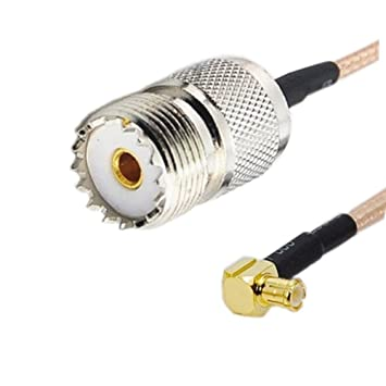 Cable coaxial RF TECHTOO SO239 UHF PL259 hembra a MCX macho ...