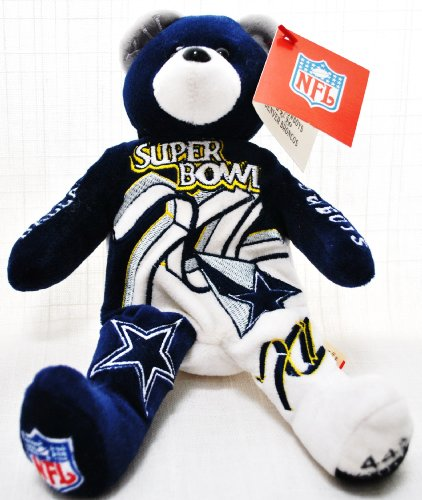 Dallas Cowboys RARE Offical NFL Super Bowl XII(12) Collectable Plush Bear