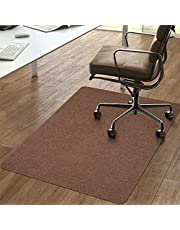 """Vicwe Hard Floor Mat, 1/6"""" Thick 36""""x56"""" Office Home Chair Mat for Floor Protection, Anti-Slip, Multi-Purpose Chair Carpet for Home"""