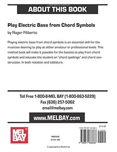 Amazon Mel Bay Play Electric Bass From Chord Symbols