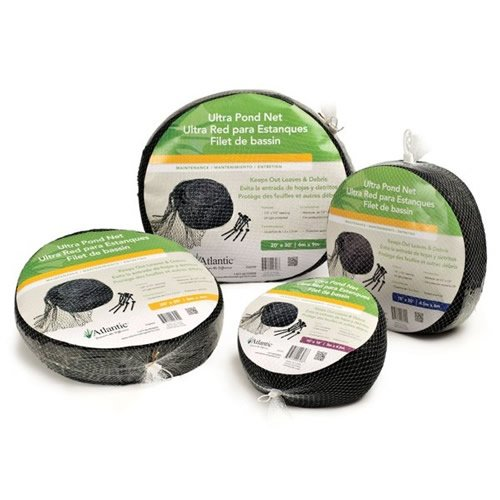 Atlantic water gardens pond net garden lawn supply for Garden pond cleaning nets
