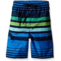 Kanu Surf Boys' Echo Stripe Swim Trunk