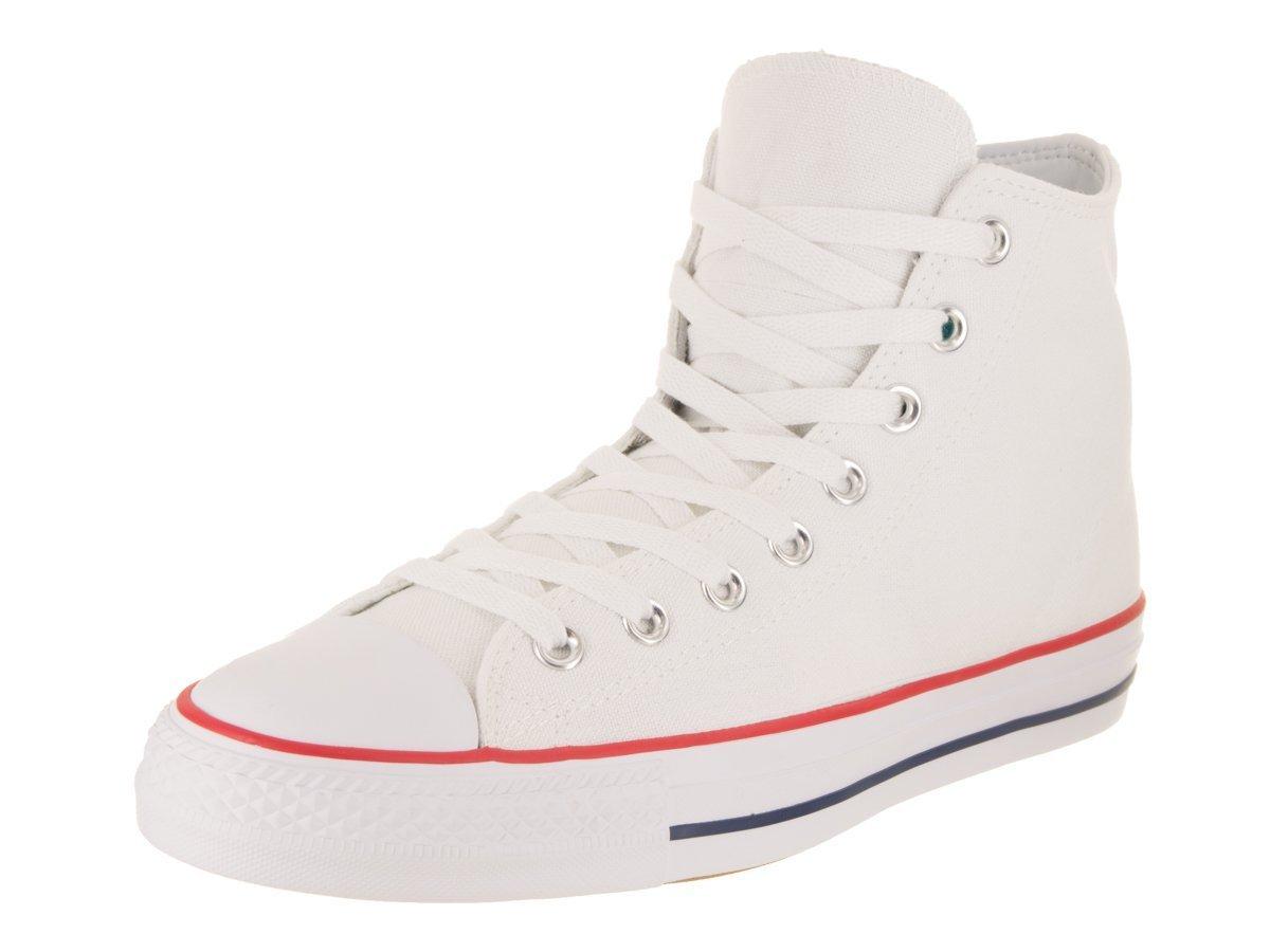 Converse Unisex Chuck Taylor All Star Pro Hi White/Red/Insignia Blue Basketball Shoe 9 Men US / 11 Women US