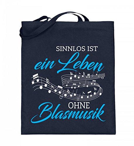 Shirtee H18I25WT_XT003_38cm_42cm_5739 - Bolso de tela de algodón para mujer Azul azul 38cm-42cm Deep Blue