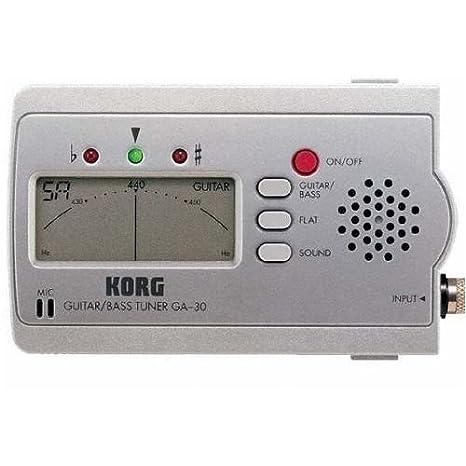 Korg GA-30 afinador de guitarra