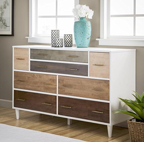 Contemporary Modern Mid-century 8-drawer Dresser by Christian