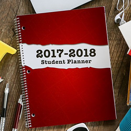 dated middle school or high school planner for academic year 2017