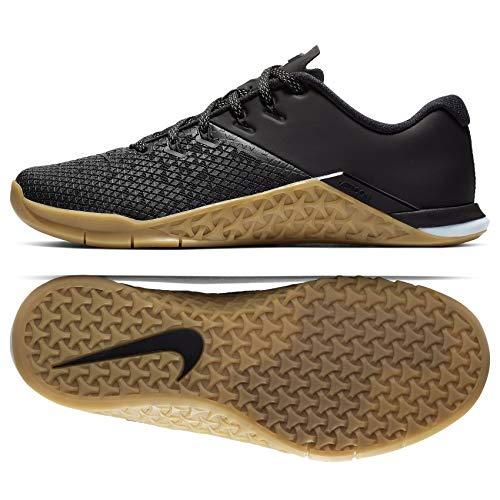 - Nike Women's Metcon 4 XD X Cross Training (9 M US, Black/Black/Gum Medium Brown)
