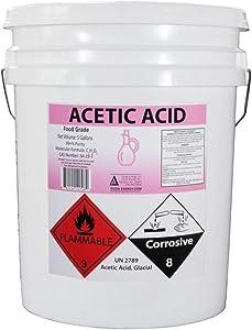5 Gallon Pail Food Grade Glacial Acetic Acid Vinegar
