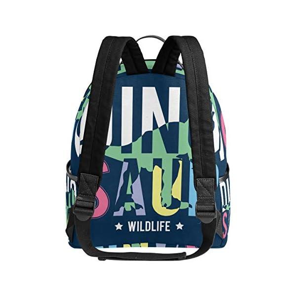 Dinosauro blu navy zaino per donne adolescenti ragazze borsa alla moda borsa libreria bambini viaggio università casual… 3 spesavip