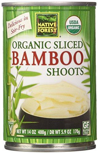 Bamboo Shoot Slice (Native Forest Organic Sliced Bamboo Shoots, 14 Ounce (Pack of 6))