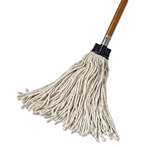 Rubbermaid Commercial RCP G043-00 Replacement Mop Head for Mop/Handle Combo, Cotton (Pack of 12) by Rubbermaid Commercial (Image #2)