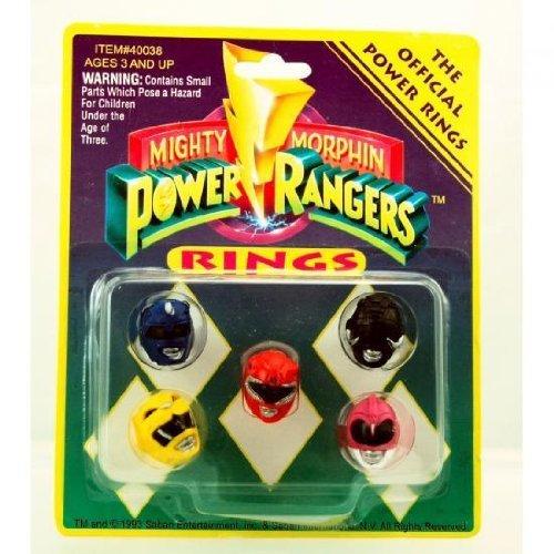 Power Rangers Mighty Morphin Power Rangers Set of