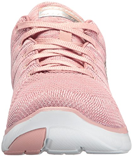 Skechers Flex Appeal 2.0 High Energy - Zapatillas Mujer Rosa