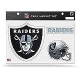 NFL Oakland Raiders Bling Team Magnet Set