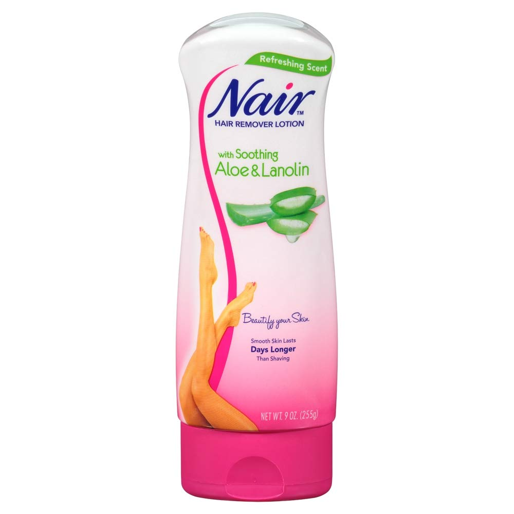 Amazon Com Nair Hair Remover Lotion Aloe Lanolin 9 Ounce