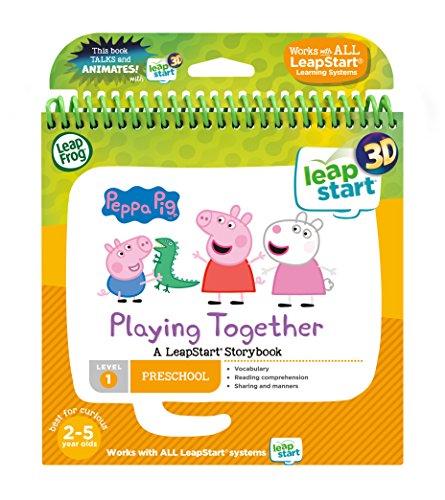 Leapstart Nursery: Peppa Pig Story Book (3D Enhanced)