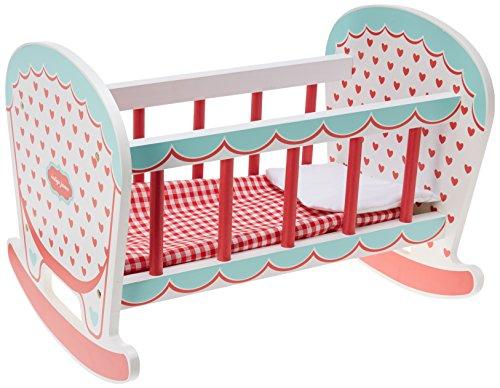 Indigo Jamm Hearts Doll Cradle/Cot Baby Bed