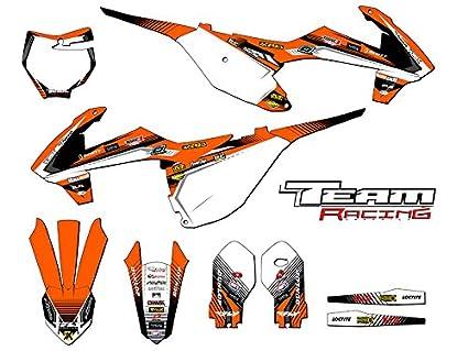 Amazon com: Team Racing Graphics kit for 2018-2019 KTM SX 85