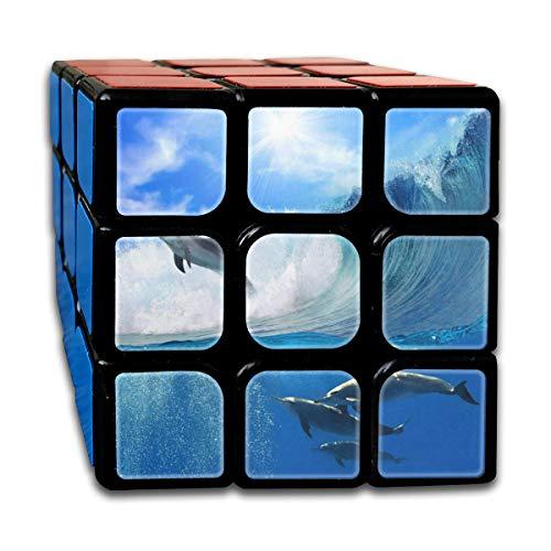 Rubiks Cube Playful Dolphins Stylish Speed Cube 3x3
