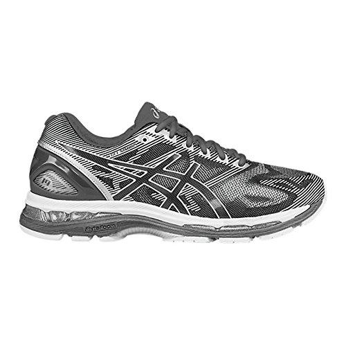 ASICS Men's Gel-Nimbus 19 Running Shoe, Carbon/White/Silver, 12 M US (Asics Running Shoes For Men)