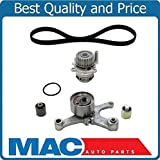 #6: Mac Auto Parts 157995 100% New Water Pump & Engine Timing Belt Compo Kit for 05-09 Audi A4 2.0L Turbo