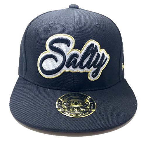 PANDAHAT Salty Cursive 3D Puff Embroidery Hat ()