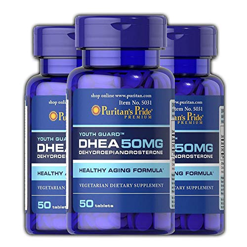 Puritans Pride Dhea 50mg Pack