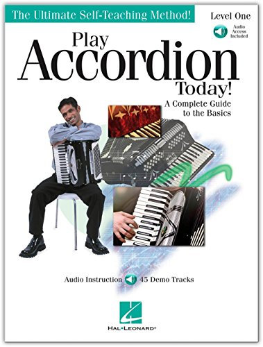 Hal Leonard Play Accordion Today Level One (Book/Online A...