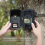 APEMAN Caméra de Chasse 20MP 1080P Caméra de Surveillance 940nm IR LEDs étanchéité IP66 Caméra de gibier à détection de… 7