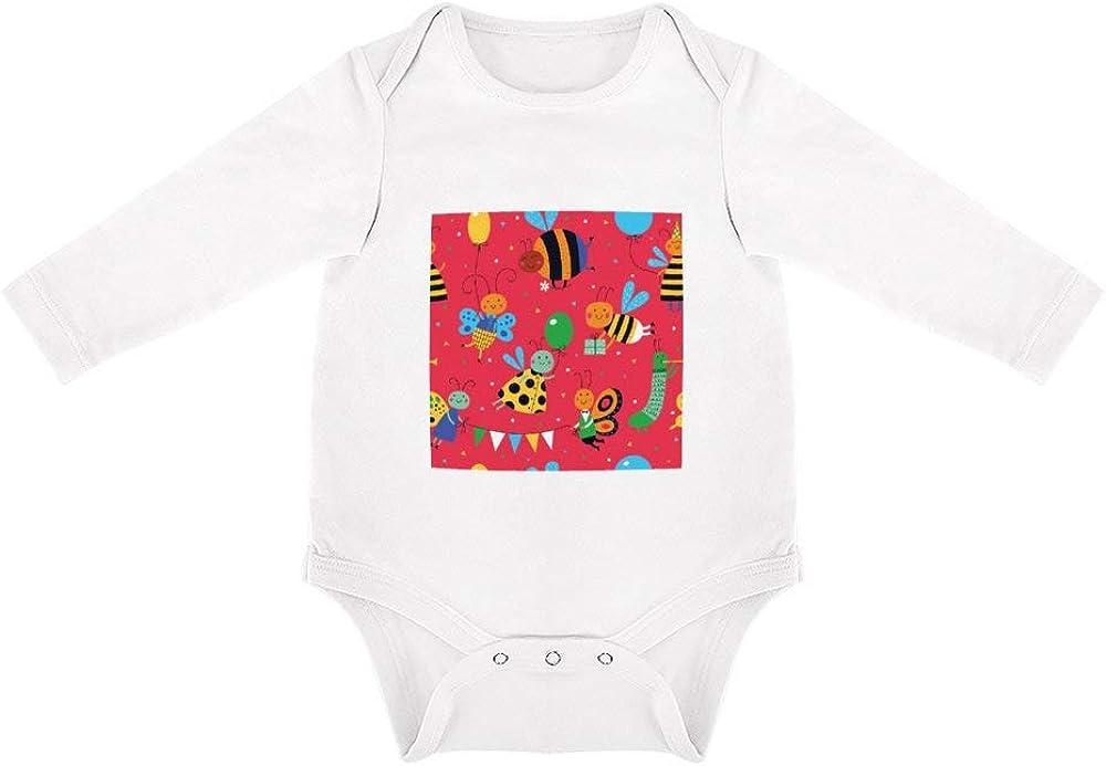 No Branded Ropa de Bebe Recien Nacido Regalo de Abeja Peleles para Bebes de algodón Ideales para Dormir y Jugar 12months
