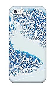HvIkNCe10505BOfkp Tpu Case Skin Protector For Iphone 5/5s Mirrors Edge With Nice Appearance