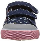 See Kai Run Girls' Robyne Sneaker, Navy/Stars, 12.5