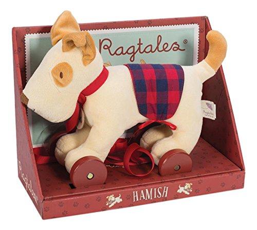 Hamish Pull Along Dog by Ragtales