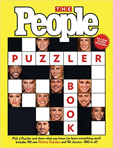 picture about People Magazine Crossword Printable referred to as The Us citizens Puzzler E book: The Editors of People today
