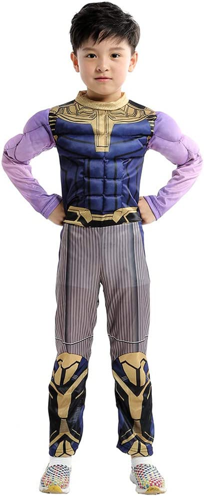 Hope Avengers 4 Thanos Kids Deluxe Costume Cosplay Chicos Mono ...