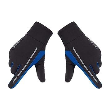Wasserdichter Touchscreen Handschuhe Fahrradhandschuhe Radsporthandschuhe Outdoor Sport Winter Bike Handschuhe Rutschfeste Und Sto/ßd/ämpfende Mountainbike Handschuhe F/ür Fahren Skifahren Skating,iStary