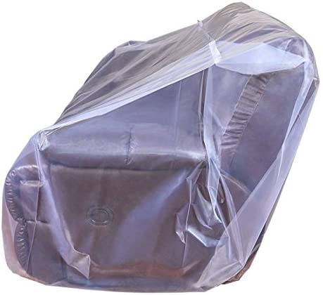 CRESNEL Furniture Cover Plastic Bag for Moving Protection and Long Term Storage (Sofa)    This extra thick plastic bag will withstand tear and rip from moving. Made with premium grade all new, non-recycled plastic it is highly durable, able to keep your sofa well protected even in long term storage. Money back satisfaction guarantee.